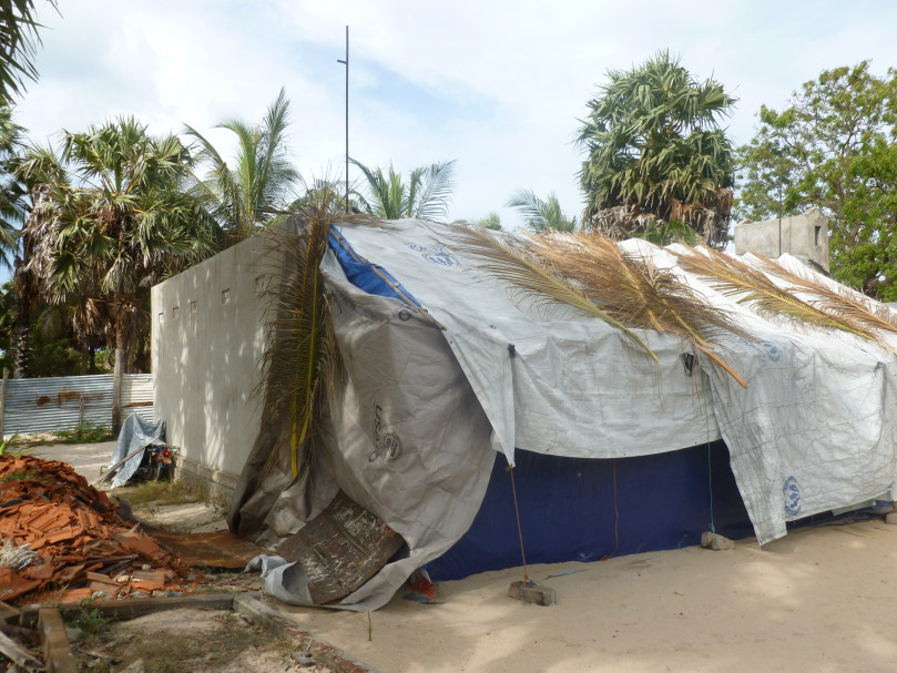Living conditions in Ambalavan Pokkanai